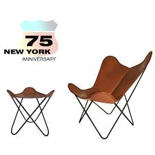 anniversary edition hardoy butterfly chair original with ottoman
