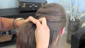 Hairstyles For Girl Video | french twist into rope braid back to school cute girls