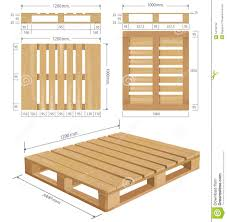 Standard Measurement Of House Plan by Wooden Pallet Dimensions Size Image Wooden Shipping Pallet In Standard
