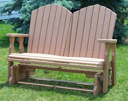 Outdoor Benches Canada Adirondack Glider Bench Poly Outdoor Furniture Free Outdoor Glider