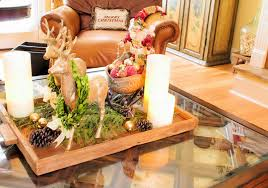 decorations decorative christmas coffee table ideas christmas