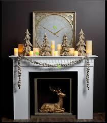 White Christmas Mantel Ideas by Wonderful Idea Of Christmas Decoration For Mantel Homesfeed