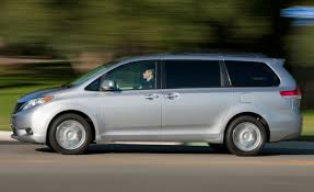 toyota awd cars 2011 toyota sienna xle awd u2013 instrumented test u2013 car and driver
