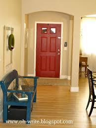 paint front door on the inside smart way to add color to a room