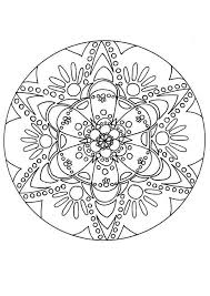 free mandala coloring pages adults kids coloring