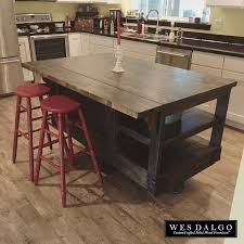 recycled countertops rustic wood kitchen island lighting flooring
