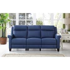Blue Reclining Sofa by Blue Reclining Loveseats U0026 Sofas You U0027ll Love Wayfair