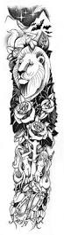 28 best lion half sleeve tattoo drawings for women images on