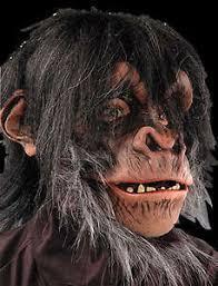 Realistic Halloween Costume Extreme Realistic Chimp Monkey Ape Chimpanzee Primate Halloween