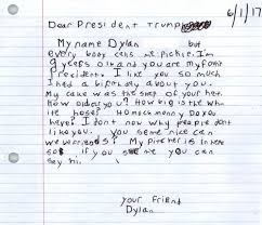 How To Properly Write A Letter Of Resignation Did A 9 Year Old Called U0027pickle U0027 Really Write That Letter To Trump