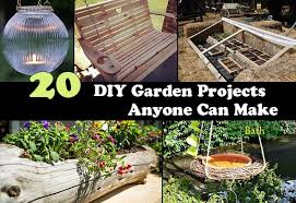 Diy Home Garden Ideas 20 Diy Garden Projects Anyone Can Make Home And Gardening Ideas