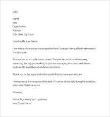 2 week notice letter 10 two week notice letter retail resume