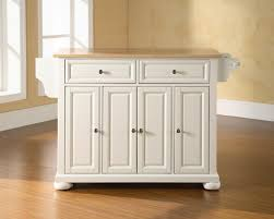 white wooden kitchen island with double drawers and four storage white wooden kitchen island with double drawers and four storage doors combined with brown top and