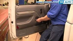 how to install replace inside door handle ford f150 f250 f350 92