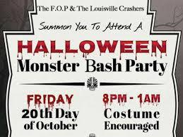 Halloween Monster Games by Halloween Monster Bash Party Jeffersonville Mysoin