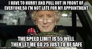 Text Driving Meme - grandma driving memes imgflip