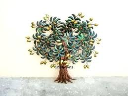 tree wall sculpture metal tree wall sculpture leaf wall home
