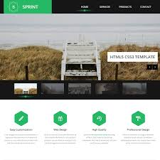download layout html5 css3 template 401 sprint