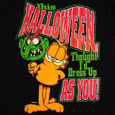 25 garfield halloween ideas
