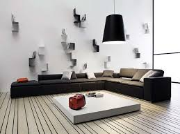 Modern Living Room Wall Decor Ideas Plates  Incredible Modern - Living room wall decoration