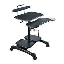 Sit Stand Desk Mount by Sit And Stand Computer Workstation