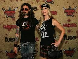rob zombie and sheri moon dating gossip news photos
