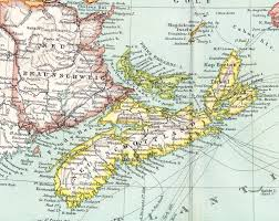Canada And Us Map by Map Of Eastern Canada World Map