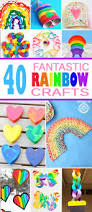 40 fantastic kids rainbow crafts kids activities blog
