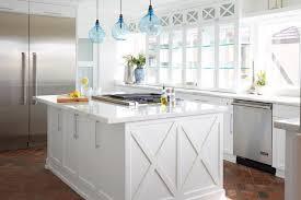 contemporary glass pendant lights kitchen style with blue Blue Glass Pendant Light