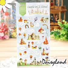 Castle On A Cloud Simple Heart U2014 Sticker Daisyland My Kawaii Friend Castle On