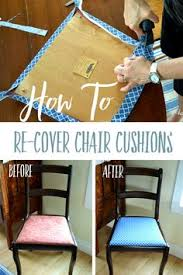 How To Reupholster Dining Room Chairs How To Recover Dining Room Chairs La Casa Pinterest Room