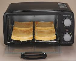 Microwave And Toaster Oven In One Amazon Com Proctor Silex 4 Slice Toaster Oven Black 31118r