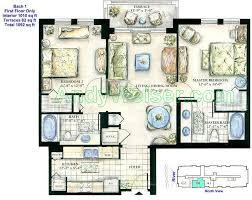 symphony luxury condominium floor plans for 2 bedroom residences