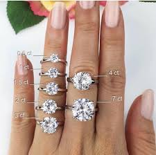 3 carat ring engagement rings what s your size unique diamond engagement