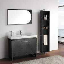 Porcelain Bathroom Vanity Superb Single Porcelain Sink For Black Bathroom Vanity Design With