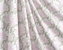 Gray And Pink Curtains Pink Gray Curtains Etsy
