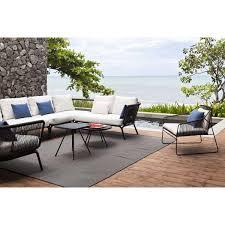 canape d exterieur design salon d extérieur yland par oasiq