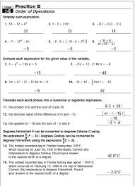 ideas of algebra 1 practice worksheets with answers in sample