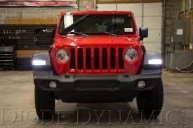 led lights for jeep wrangler jl 2018 jeep wrangler led lighting feature diode dynamics