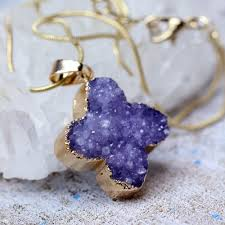 online buy wholesale druzy necklace from china druzy necklace