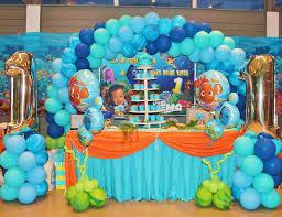 nemo baby shower finding nemo theme birthday nolan s 1st birthday catch my party