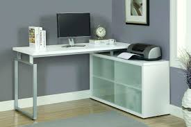 corner computer desk glass small glass corner desk hula home