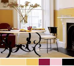 dining room decor yellow wall painting paint