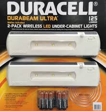 wireless under cabinet lighting with remote duracell led wireless motion sensor under cabinet light 2pk 125