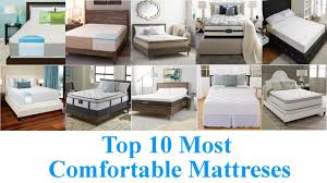 Most Comfortable Sofa Bed Mattress by Top 10 Most Comfortable Mattresses 2017 Youtube