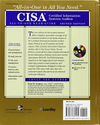 cisa certified information systems auditor all in one exam guide