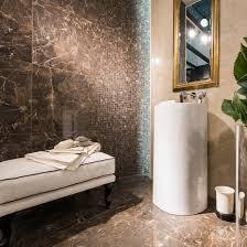 mosaic look tile bathroom floor porcelain stoneware anima