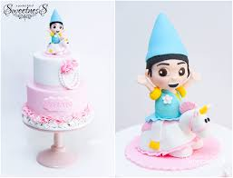 despicable me cake topper dispicible me agnes gru 2 tier birthday cake created by a pocket