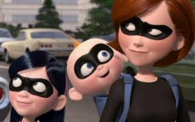 incredibles 2 start movie left