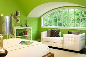 Bright Green Rug Bedroom Arch Window With Bright Green Wall And Area Rug Plus